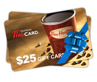 Carte Cadeau Tim Horton.Gagnez Une Carte Cadeau De 25 Chez Tim Hortons Quebec