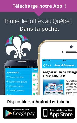 Téléchargez notre application mobile