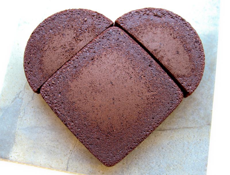 savez-vous comment faire un gâteau en coeur sans moule? que de