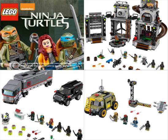 3 ensembles de jeu lego tortue ninja gagner - Jeux de tortue ninja gratuit ...