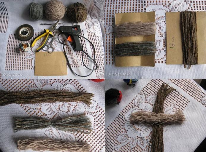 comment faire des moineaux en fil de laine quebec. Black Bedroom Furniture Sets. Home Design Ideas