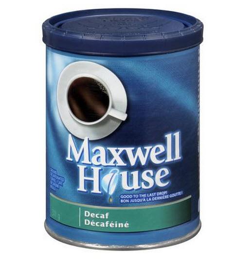 caf moulu maxwell house 631g au lieu de. Black Bedroom Furniture Sets. Home Design Ideas