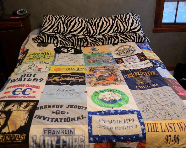 comment faire une couette de t shirts quebec echantillons gratuits. Black Bedroom Furniture Sets. Home Design Ideas