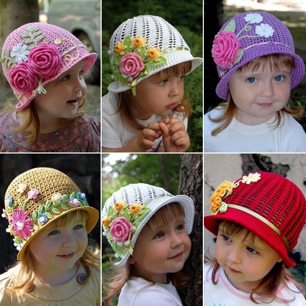 Free Crochet Pattern For Panama Hats : Un joli chapeau ? tricoter pour votre enfant Quebec ...