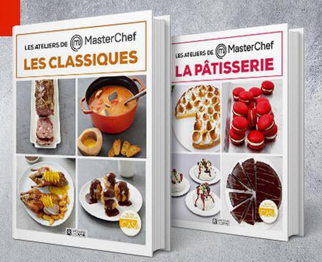 Livres Les Ateliers MasterChef Offerts - Livre de cuisine gratuit