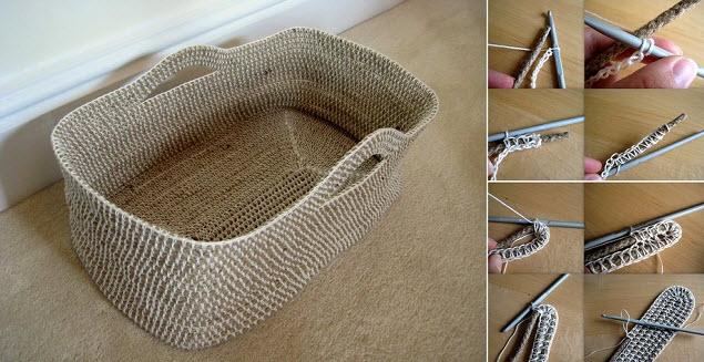 comment faire un joli panier corde quebec echantillons gratuits. Black Bedroom Furniture Sets. Home Design Ideas