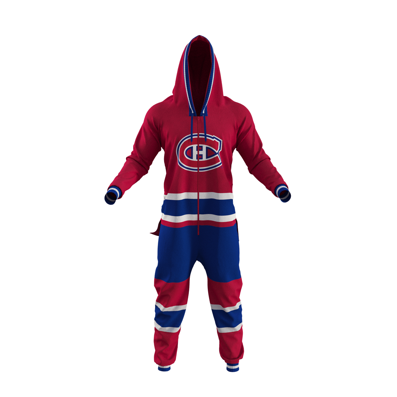 Gagnez un pyjama/one piece Hockey Sockey des Canadiens