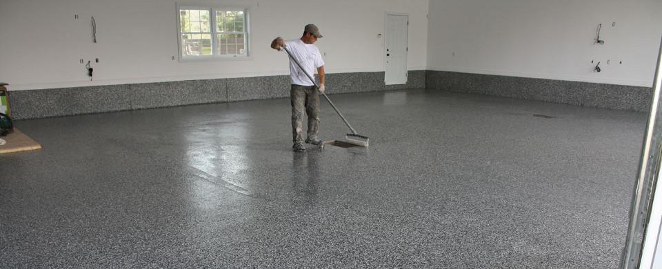 Gagnez un surfa age de plancher de garage en epoxy de 1500 - Garage et surface de plancher ...