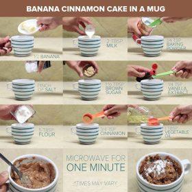 Mug Cake Text