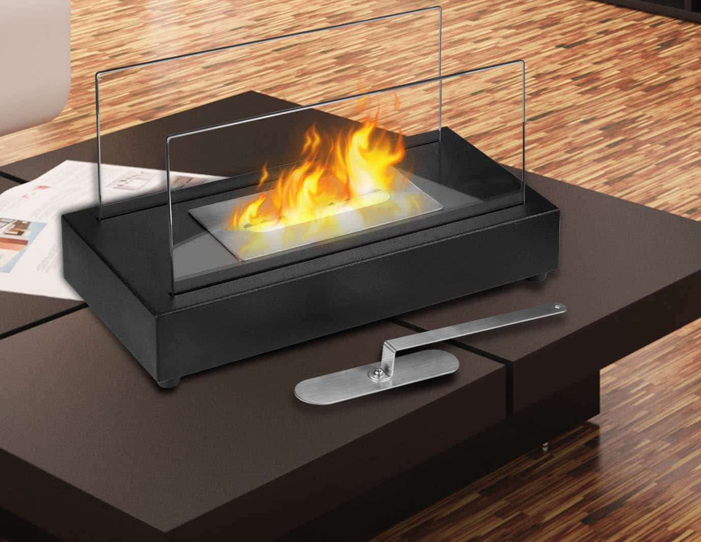 gagnez un foyer de table l 39 thanol de 125 quebec echantillons gratuits. Black Bedroom Furniture Sets. Home Design Ideas