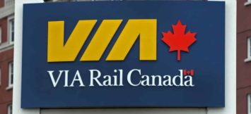 A VIA Rail sign at the train station in Halifax on Wednesday, June 27, 2012. The company is expected to release the next phase of its modernization plan which may include cuts to rail passenger service. THE CANADIAN PRESS/Andrew Vaughan