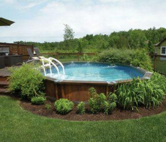 Gagnez une piscine tr vi notika de 15 pieds - Que mettre autour d une piscine ...
