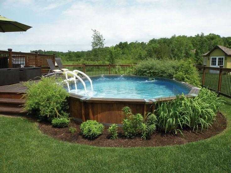 Piscine Contour Bois - Gagnez une piscine Trévi Notika de 15 pieds