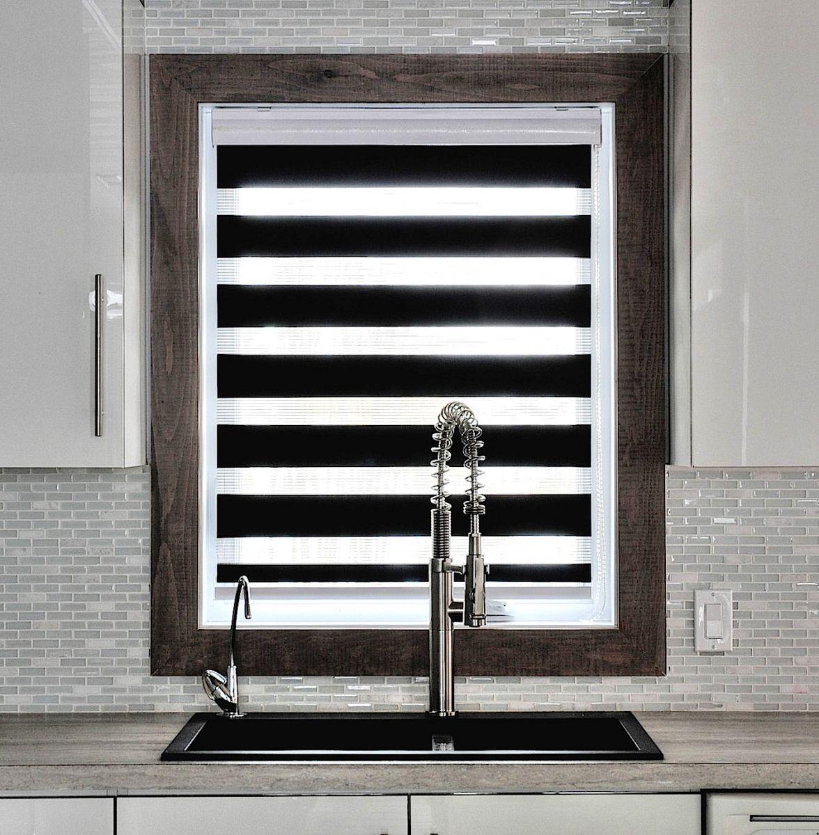 gagnez des stores pour votre porte patio. Black Bedroom Furniture Sets. Home Design Ideas