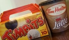 CERYRP Tim Hortons Timbits and Coffee Cup