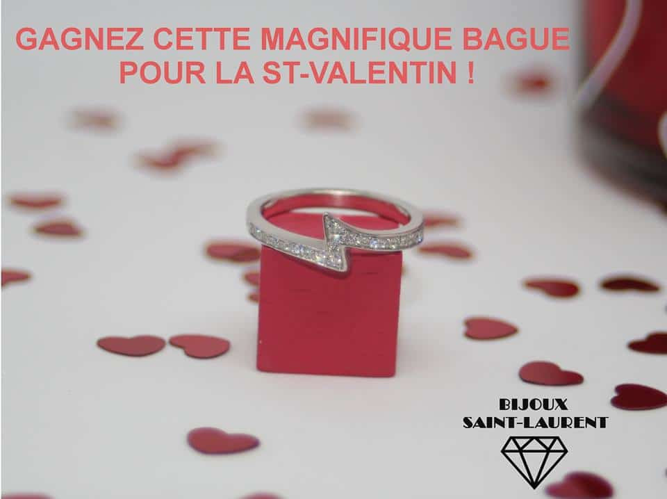 gagnez une magnifique bague or et diamants pour la st valentin. Black Bedroom Furniture Sets. Home Design Ideas