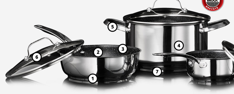 8 batteries de cuisine the rock gagner quebec echantillons gratuits. Black Bedroom Furniture Sets. Home Design Ideas