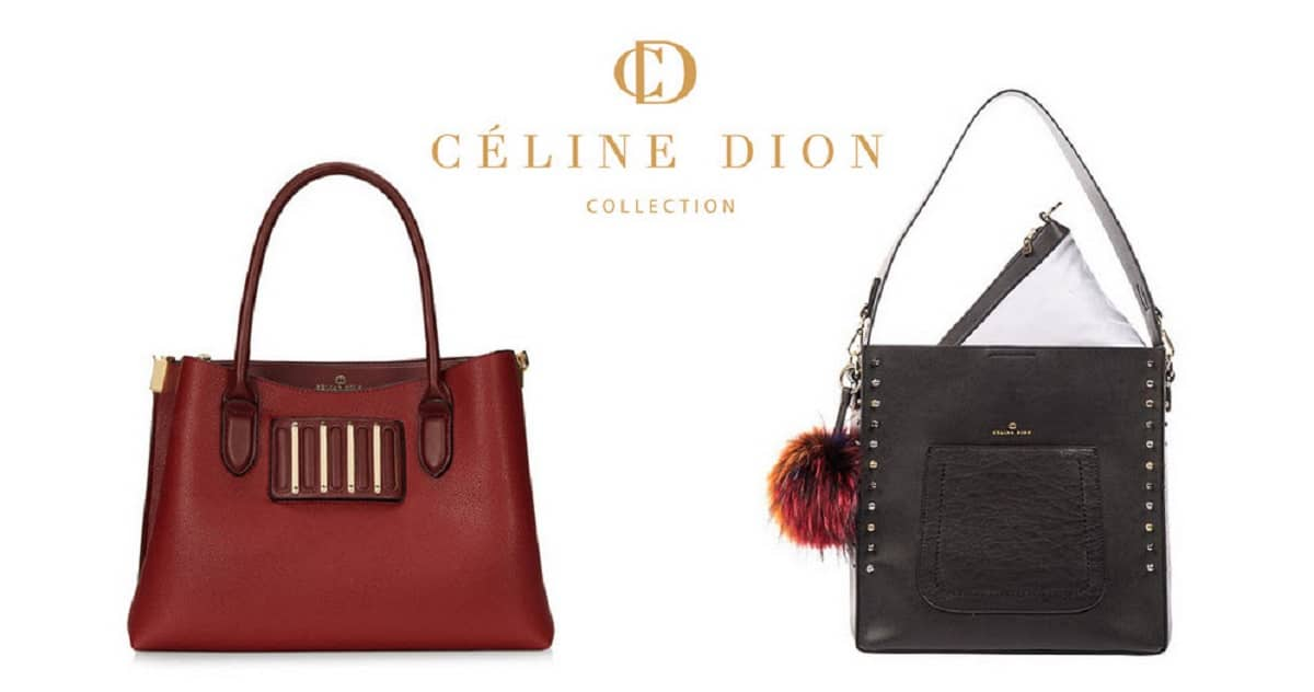 big discount latest online retailer Un sac à main de la collection Céline Dion à gagner • Quebec ...