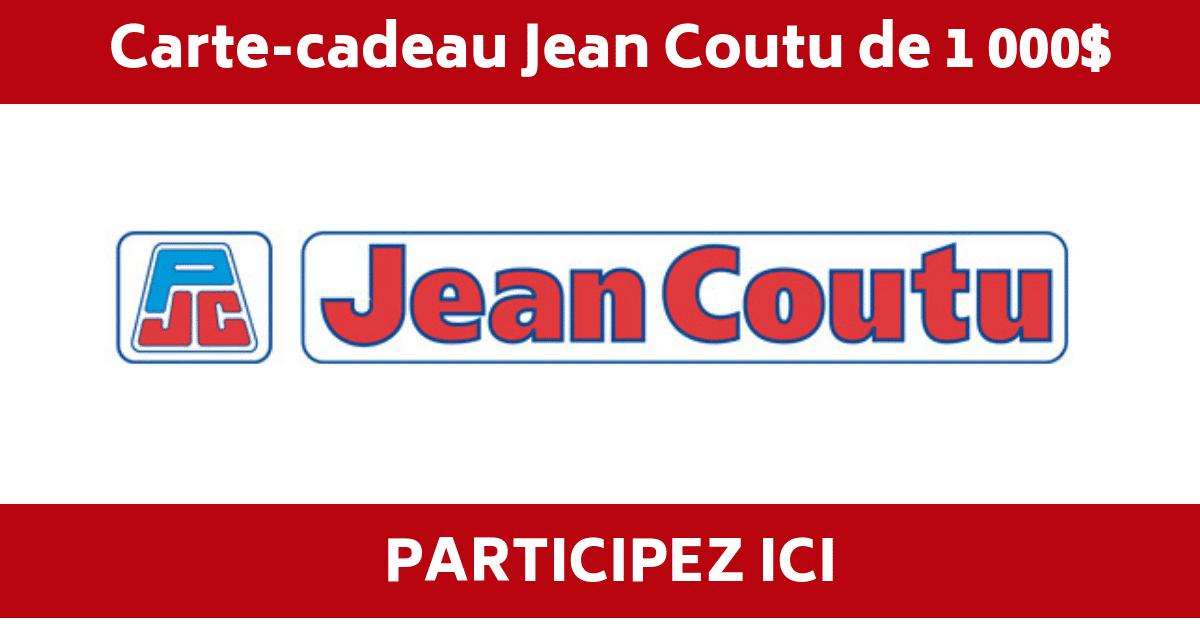 concours jean coutu