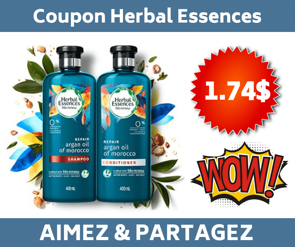 coupon herbal essences