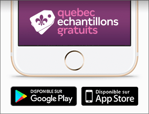 Application Québec Échantillons Gratuits