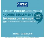 Circulaire Jysk 23 mai – 29 mai 2019