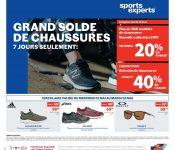 Circulaire Sports Experts 15 mai – 28 mai 2019