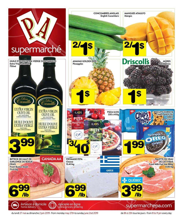 Circulaire Supermarché PA 27 mai – 2 juin 2019