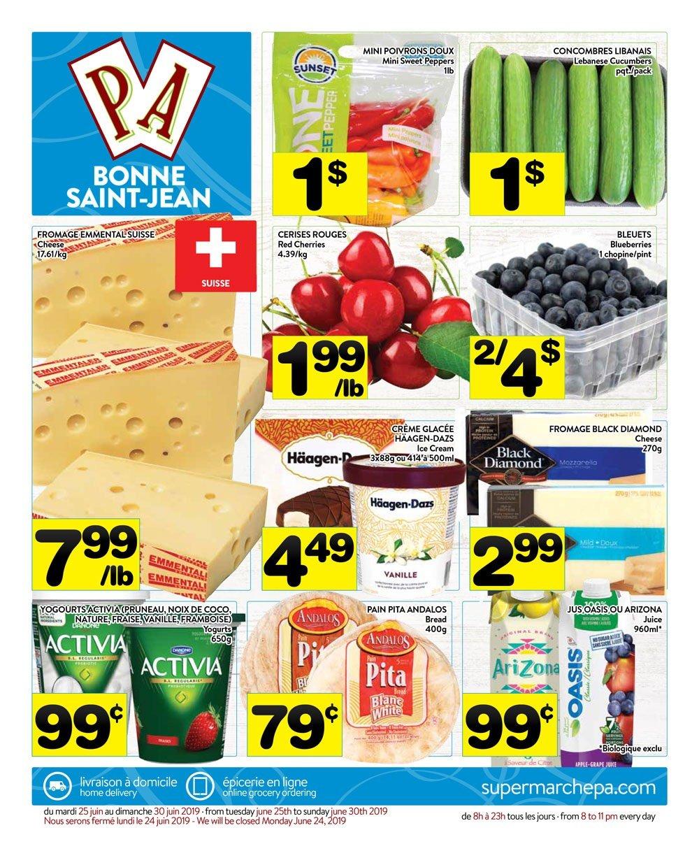 Circulaire Supermarché PA 25 juin – 30 juin 2019