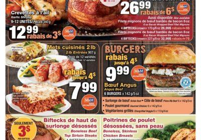 Circulaire Les Aliments M - M 25 juillet – 31 juillet 2019