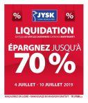 Circulaire Jysk 4 juillet – 10 juillet 2019