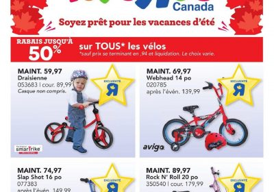 Circulaire Toys R Us 1 juillet – 4 juillet 2019
