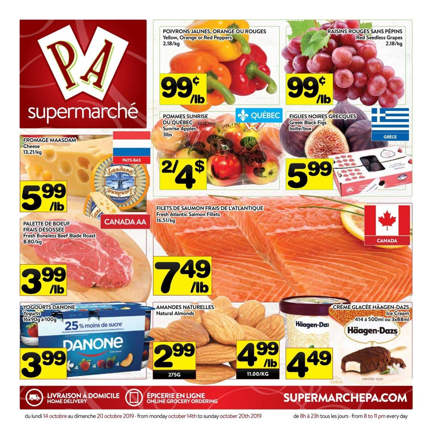 Circulaire Supermarché PA 14 octobre – 20 octobre 2019