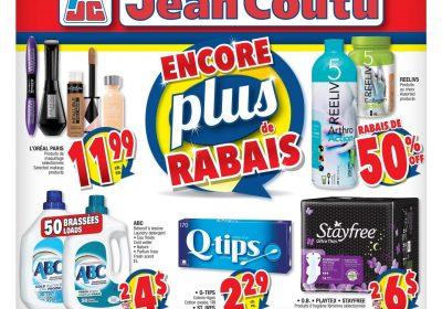 Circulaire Jean Coutu 10 octobre – 16 octobre 2019. Plus de rabais!