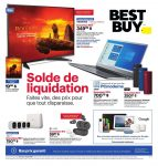 Circulaire Best Buy 18 octobre – 24 octobre 2019. Solde de liquidation