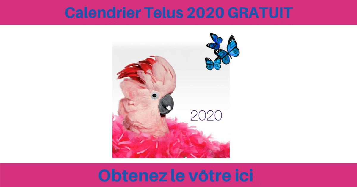 Jeu Concours Calendrier De Lavent 2020.Calendrier Telus 2020 Gratuit Quebec Echantillons Gratuits