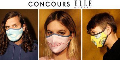 masques tissu concours