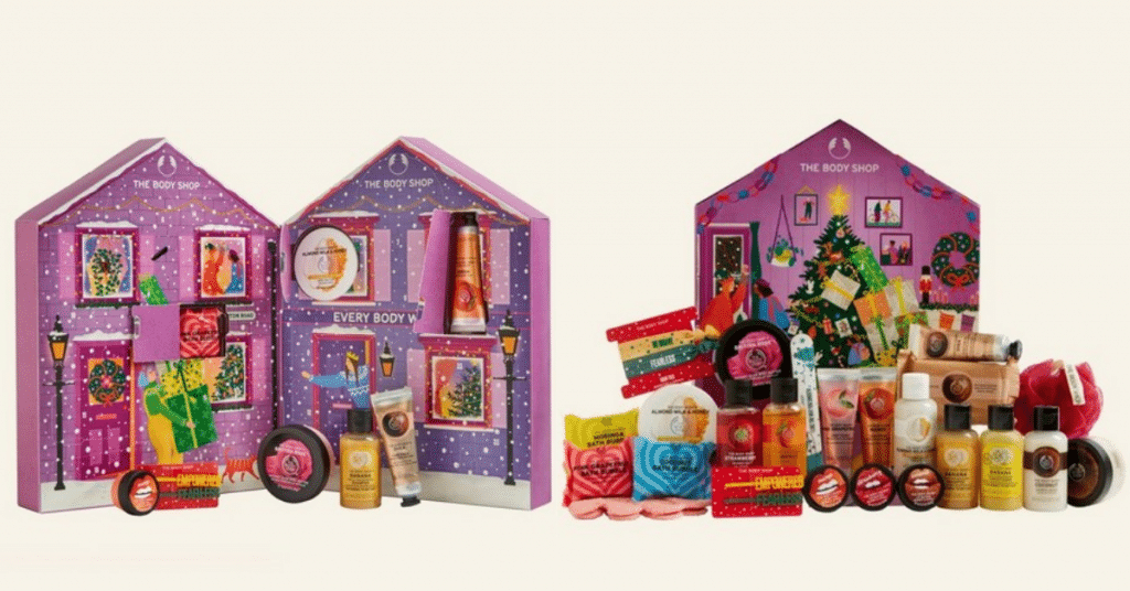 calendrier de l'avent The Body Shop