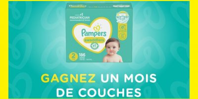 pampers couches mois concours 1