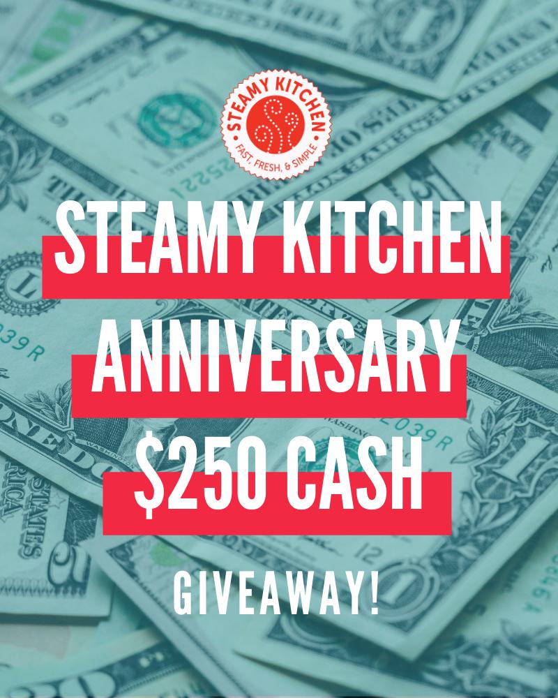 argent comptant steamy kitchen