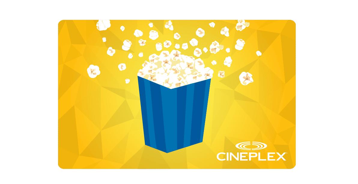 cineplex concours carte cadeau