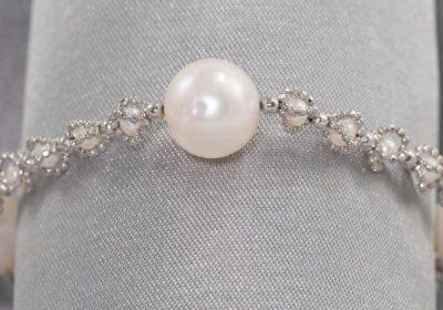 bracelet steamy kitchen concours perle argent