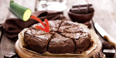 brownie courge zucchini recette