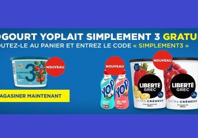 yoplait gratuit maxi 1