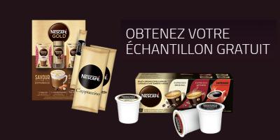 echantillons gratuits cafe nescafe soluble capsule