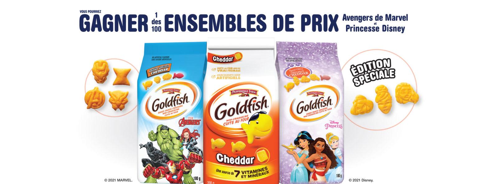 marvel goldfish concours