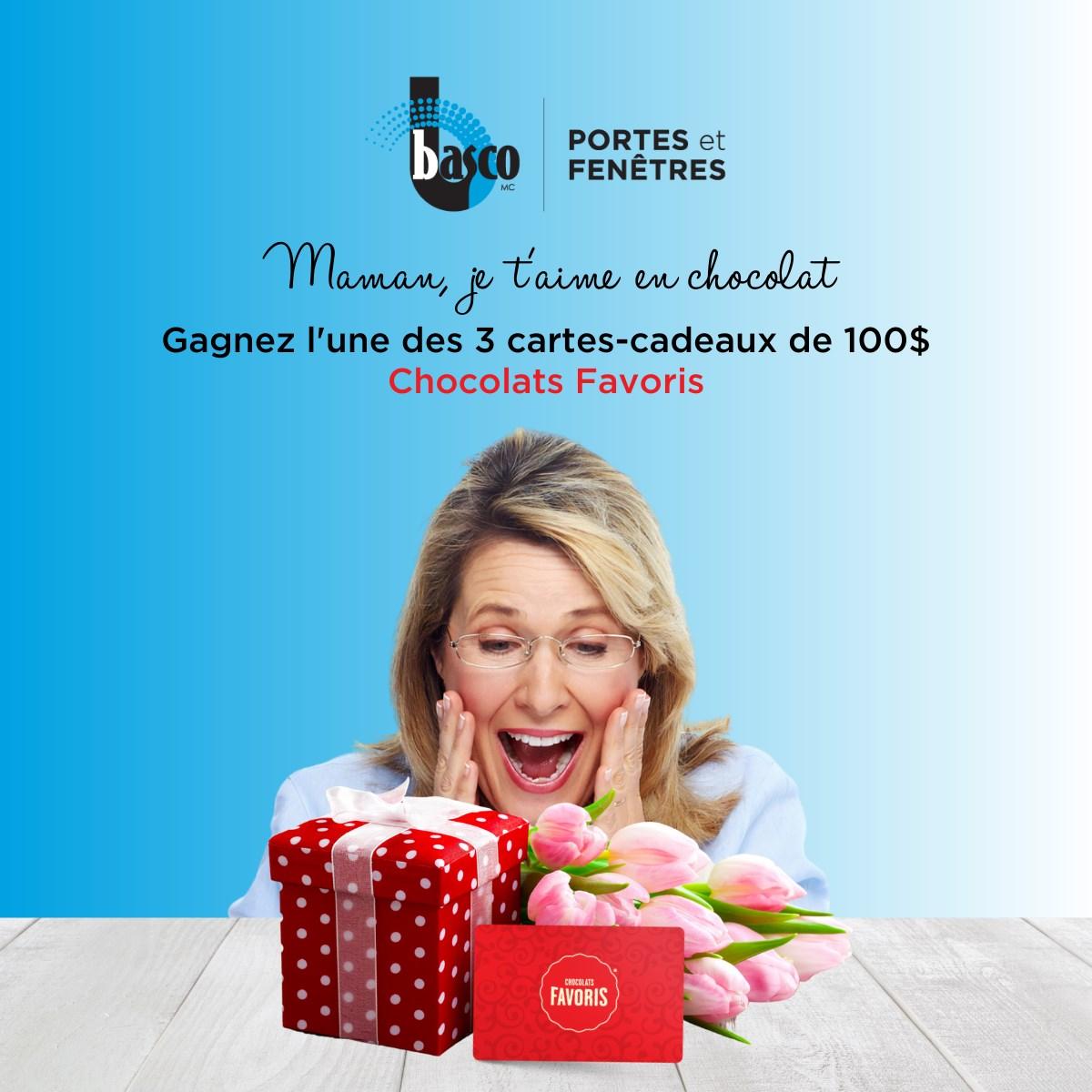 chocolats favoris concours basco