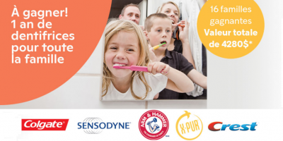 dentifrices brunet concours 1