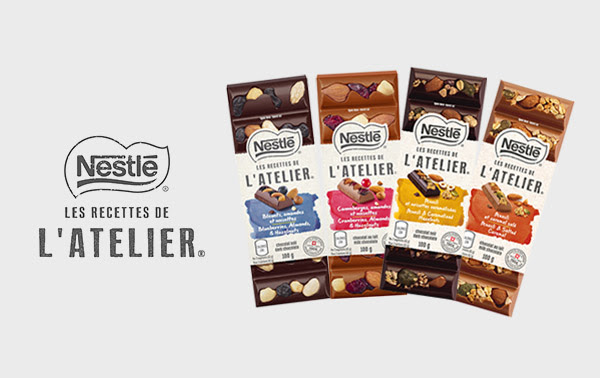 barre chocolat nestle latelier gratuite