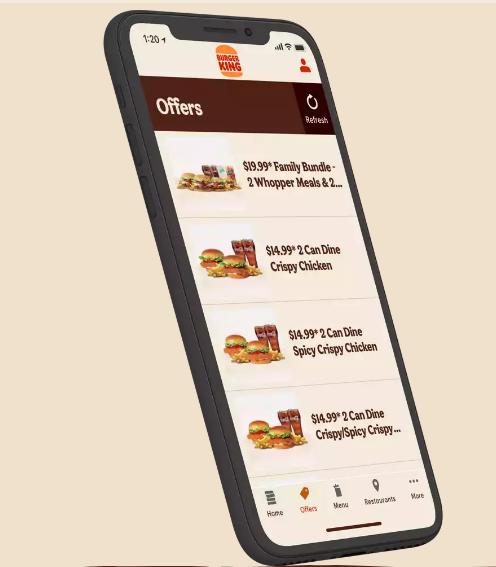 Comment obtenir des coupons rabais Burger King
